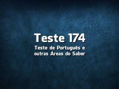 Teste de Português 174