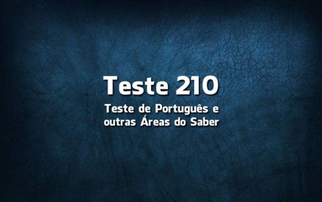 Quiz ou Teste de Português 210