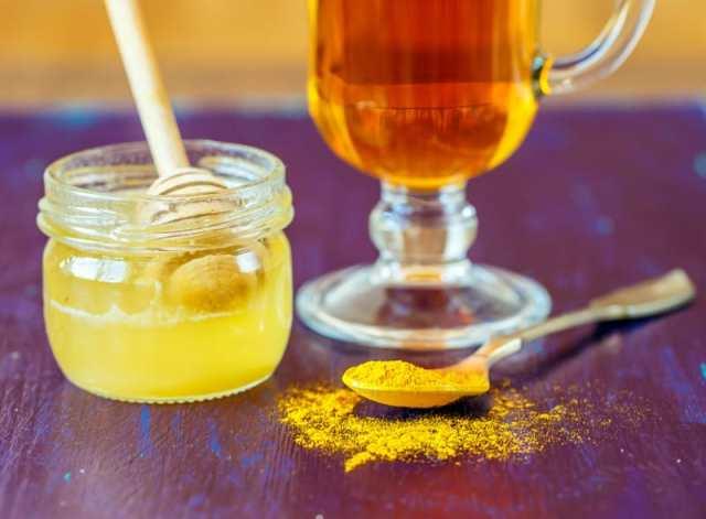 Açafrão com mel