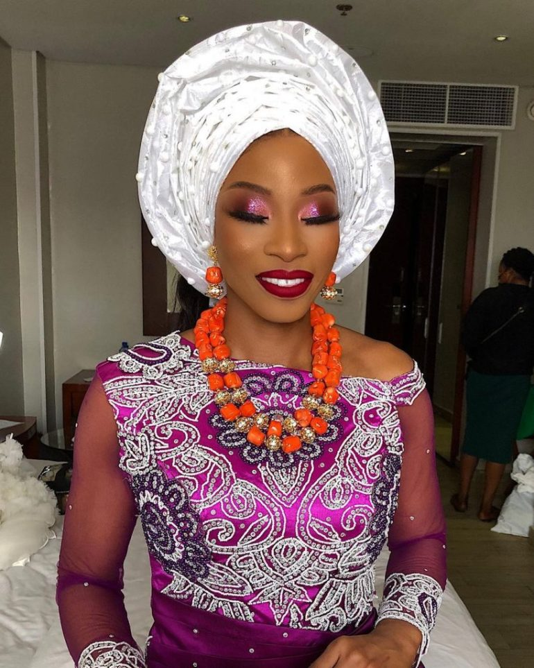 igbo bridal makeup