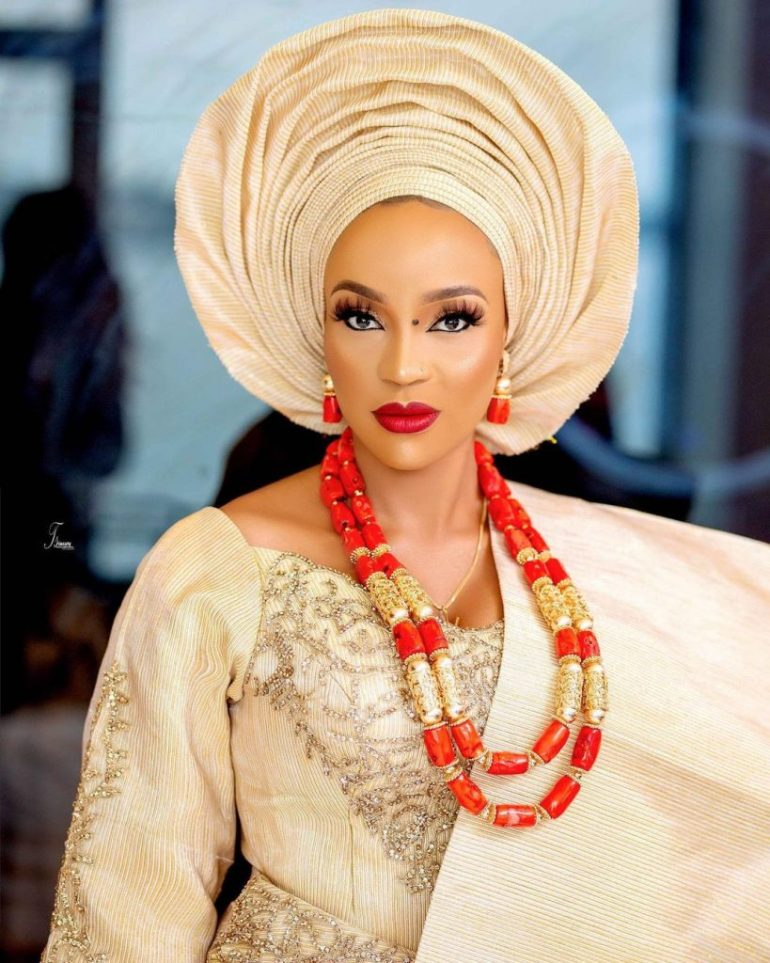 yoruba traditional wedding makeup