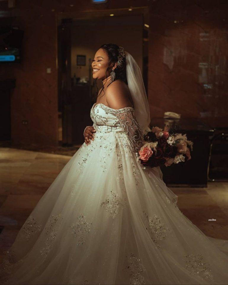 off the shoulder wedding dress la viva bridal