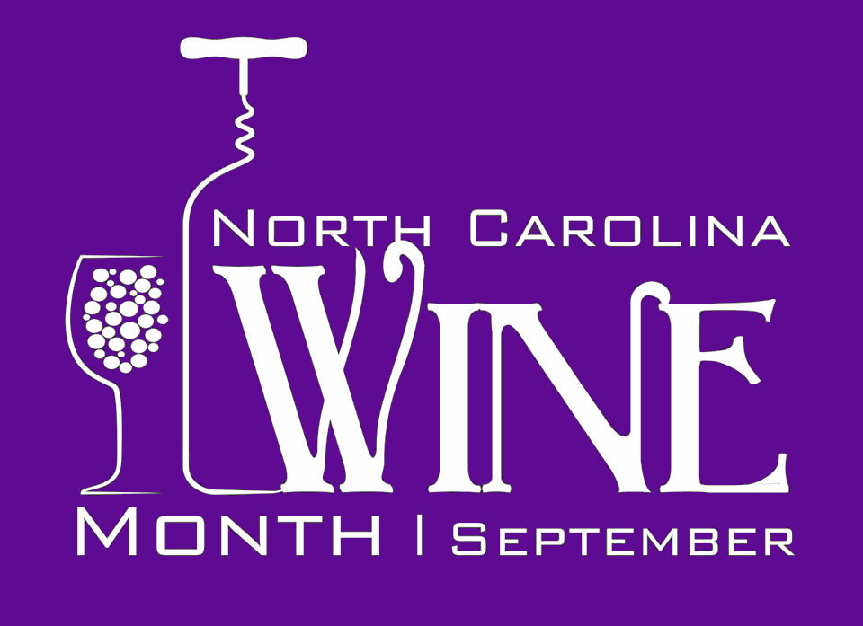 North Carolina Wine Month Purple