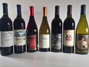 Some of the NC Wines suggested for Food Pairings