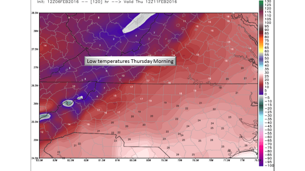 Winter Storms and Cold This Week - NC Weather Happens
