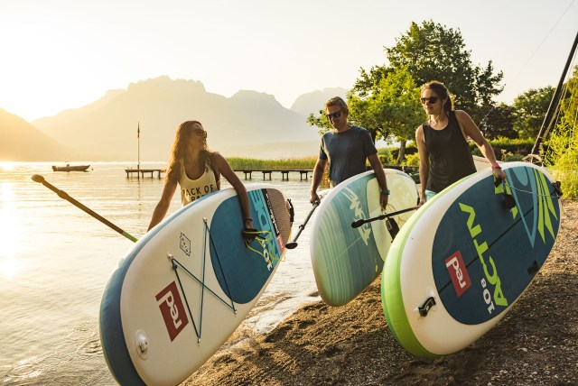 recrutement paddle lac annecy