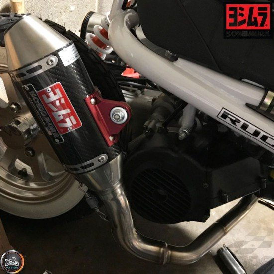 yoshimura exhaust rs 2 carbon full system gy6