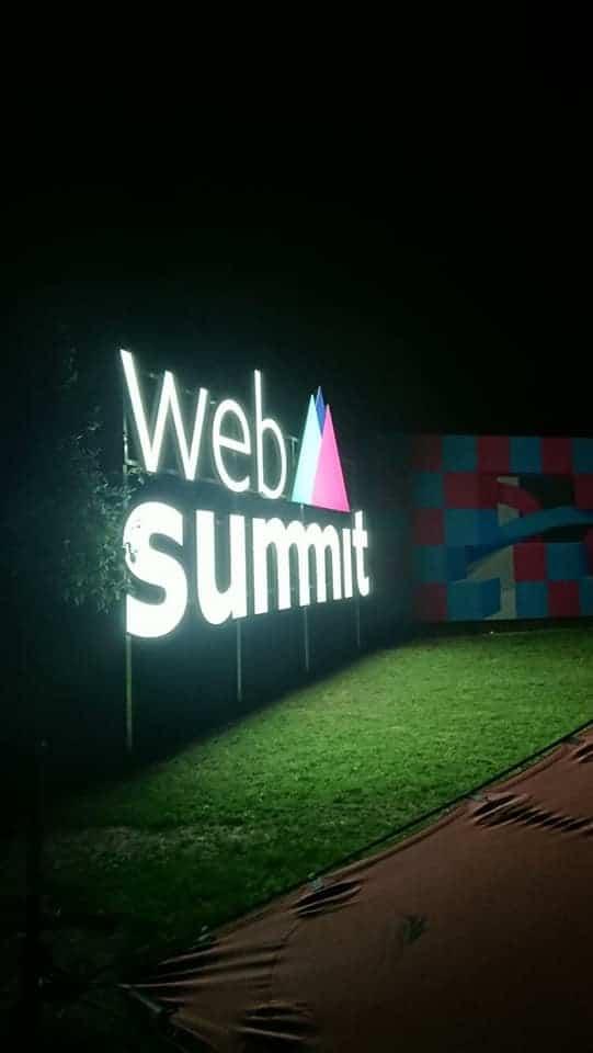 Web Summit Illuminated Exterior Sign