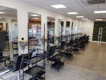 COVID 19 Protective Screens for salon.