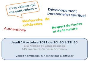 Rencontre avec Michel Sarrat, le 14 octobre 20h30 à la maison St Louis Beaulieu