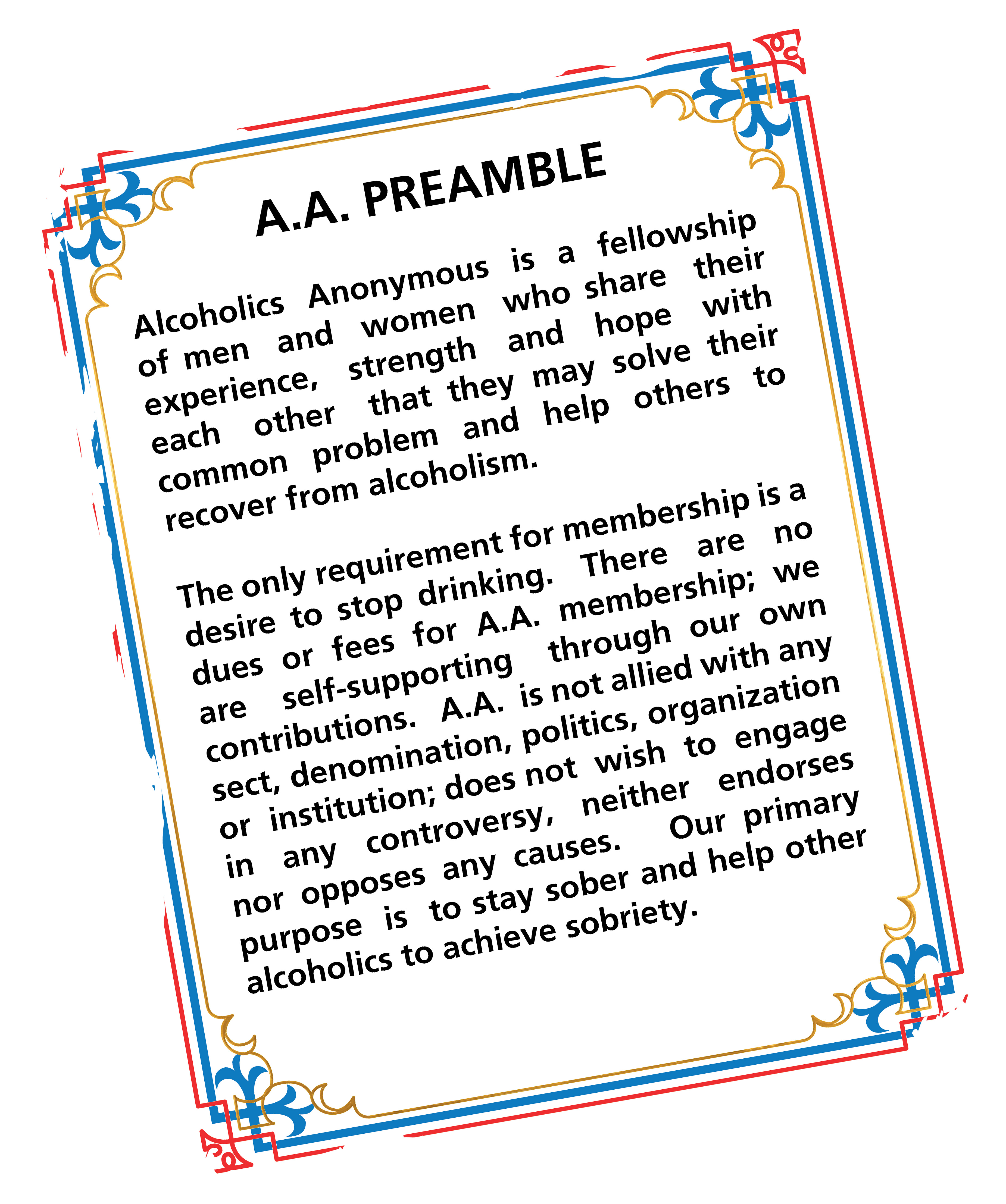 Northern De Intergroup Of Aa Welcome To Northern De Intergroup Of Alcoholics Anonymous Ndiaa