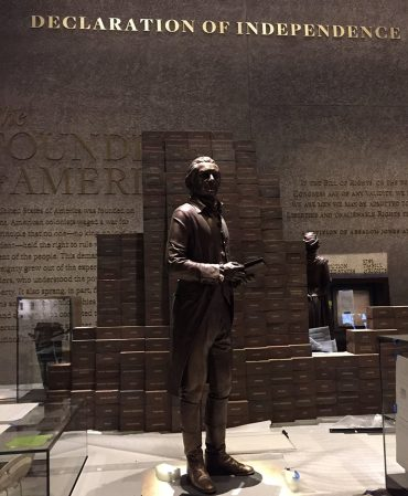 Thomas Jefferson Status in National African American History Museum