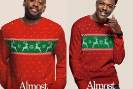 """Omar Epps & DC Young Fly of """"Almost Christmas"""""""