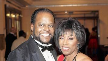 Reggie and I at the Ndigo Gala.
