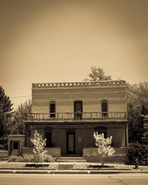 1800's Western Hotel