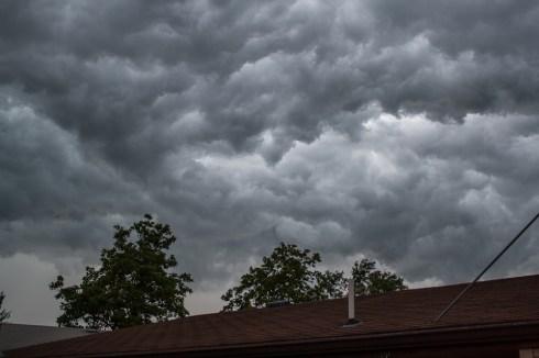 Thunderclouds in Nebraska