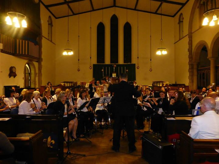 Nick in concert - Massed TMC Wind Band past & present 12/10/2014 - Keith Woodger Memorial Concert