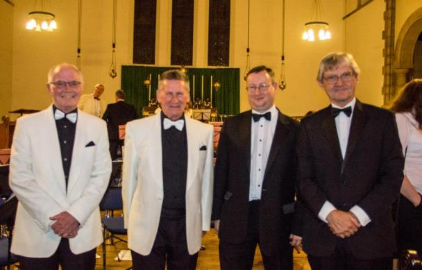 The 4 Conductors at Keith Woodger Memorial Concert 12/10/2014
