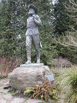The_Pioneer_by_Alexander_Phimister_Proctor_in_Eugene,_Oregon_(2014)_-_1