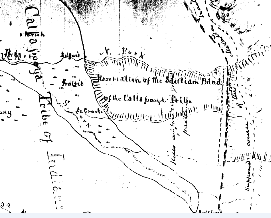 Proposed Santiam Reservation 1851