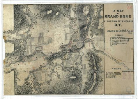Original plan for the Grand ROnde Reservation