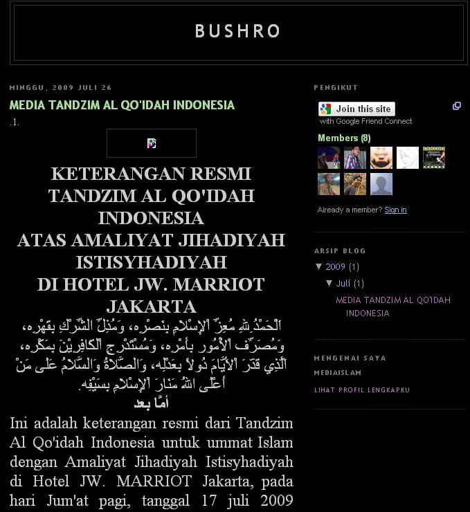 bushro