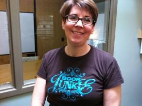 Anne Wisniewski, book junkie and master librarian