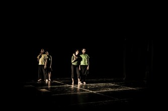 Ordinary Madness Dance Performance by Sareyyet Ramallah – First Ramallah Group (FRG), at the National Theatre - Jerusalem (Photography by: Nabil Darwish [ndproductions::digital imaging::] Copyright © 2013)