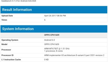 Oppo F3 Plus with Android Nougat 7 1 1 update spotted at