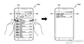Samsung Edge Patent
