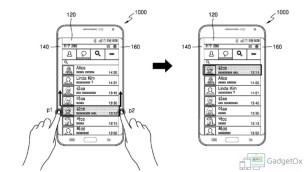 Samsung Edge Touch Patent