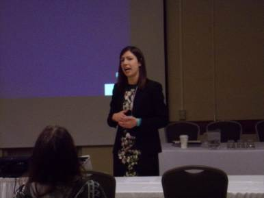 Dr. Miller gave a talk on sex trafficking and how she is helping survivors in New Orleans. She spoke at The Montana Native Women's Coalition Conference in Montana.
