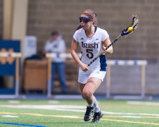 Women's Lacrosse rolls through Michigan, Cincinnati, By Emmet Farnan