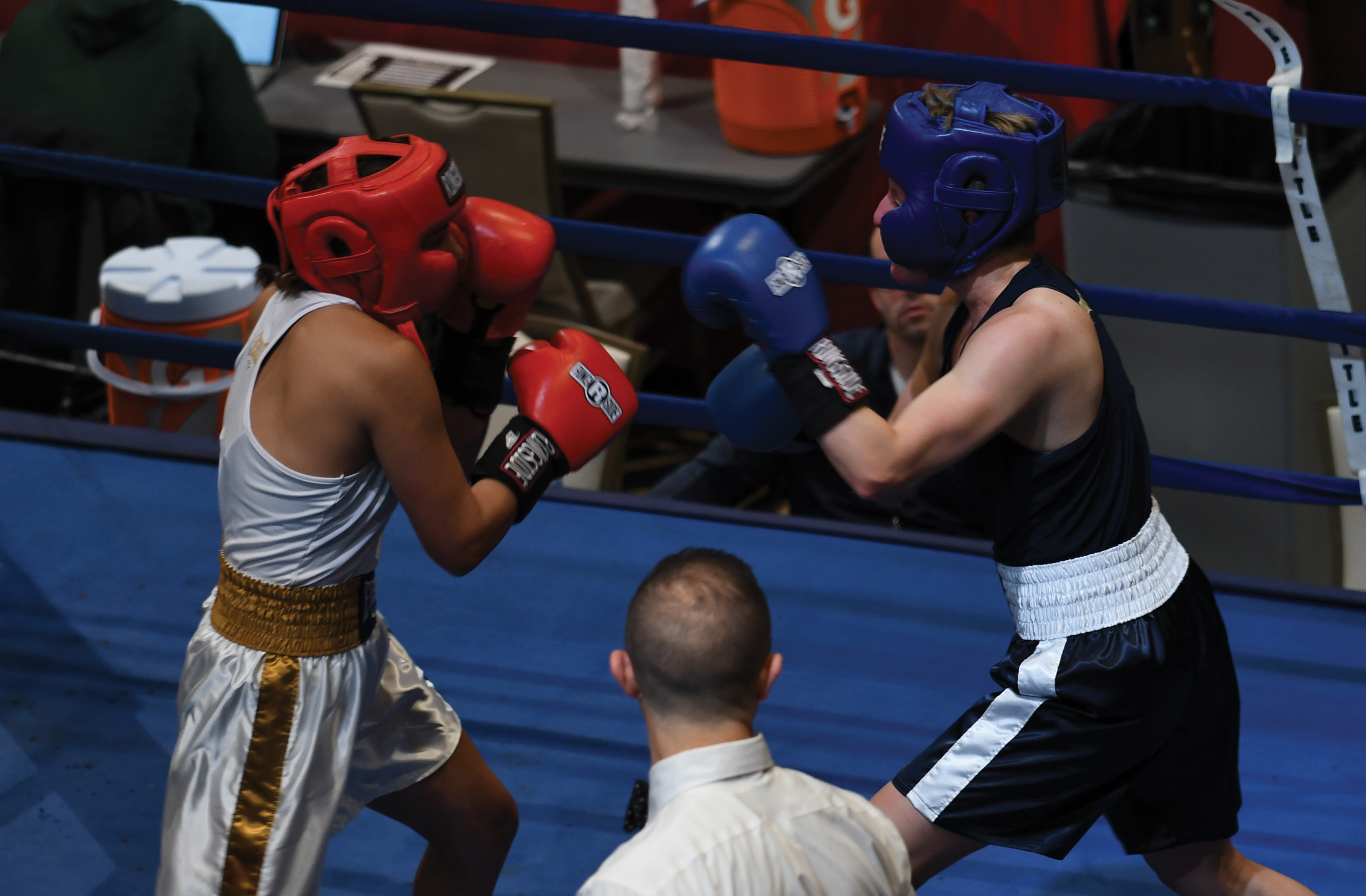 Alexis Texas Boxing baraka bouts field narrowed with 24 semifinal matches // the