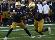 Notre Dame routs Navy as Claypool, Book lead on offense