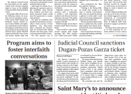Print Edition of The Observer for Tuesday, February 11, 2020