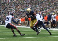 ND football player tests positive for COVID-19, four others in self-quarantine