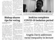 Print Edition of The Observer for Wednesday, October 14, 2020