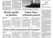 Print Edition for Monday, March 22, 2021