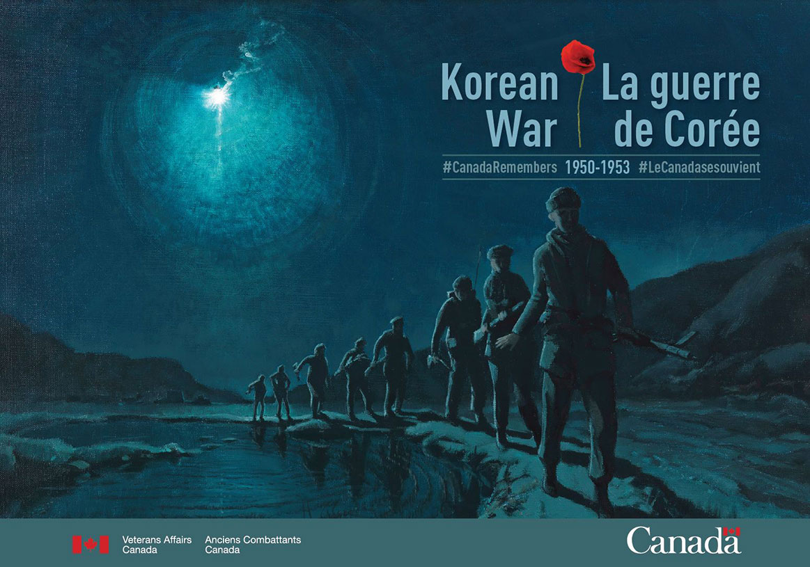 Canada Remembers The 65th Anniversary Of The Korean War