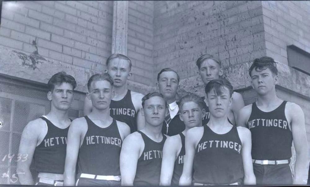 Section 2 Class B Boys Basketball North Dakota Studies
