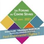 Débat le vendredi 22 janvier de 18h à 19h30: «Faut-il réinventer l'église ?» avec Véronique Margron