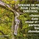 Semaine de prière pour l'unité des chrétiens (18-25 janvier 2021)