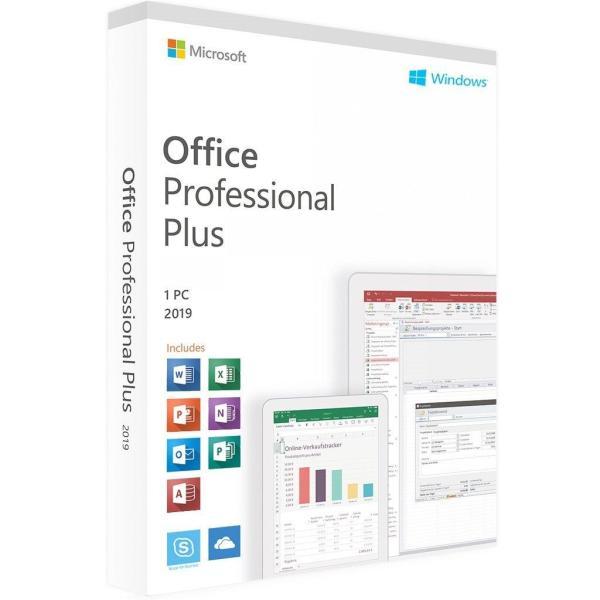 Microsoft Office 2019 Professional Plus For Windows PC - MICROSOFT
