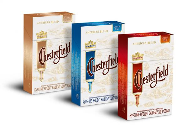 Cigaretter Chesterfield, Chesterfield