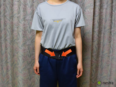 腰痛予防骨盤ベルト3