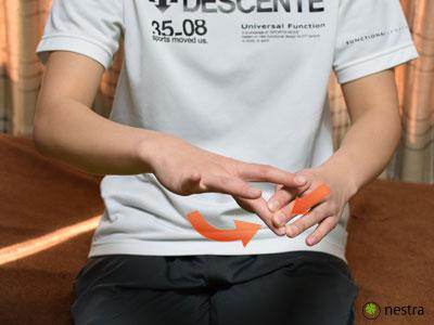 肘外側中指伸展テスト2
