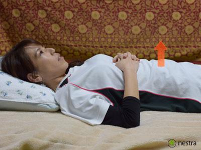寝起き腰痛全身呼吸2