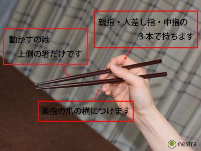 母指CM関節症お箸2
