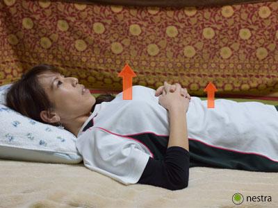 寝起き腰痛全身呼吸3